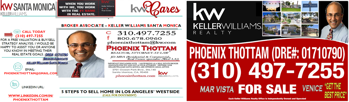 Phoenix Thottam (Broker Associate / Commercial Real Estate Specialist)
